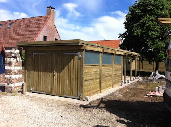 carport bois leman sur mesure ferm porte de garage basculante capinghem th leman. Black Bedroom Furniture Sets. Home Design Ideas