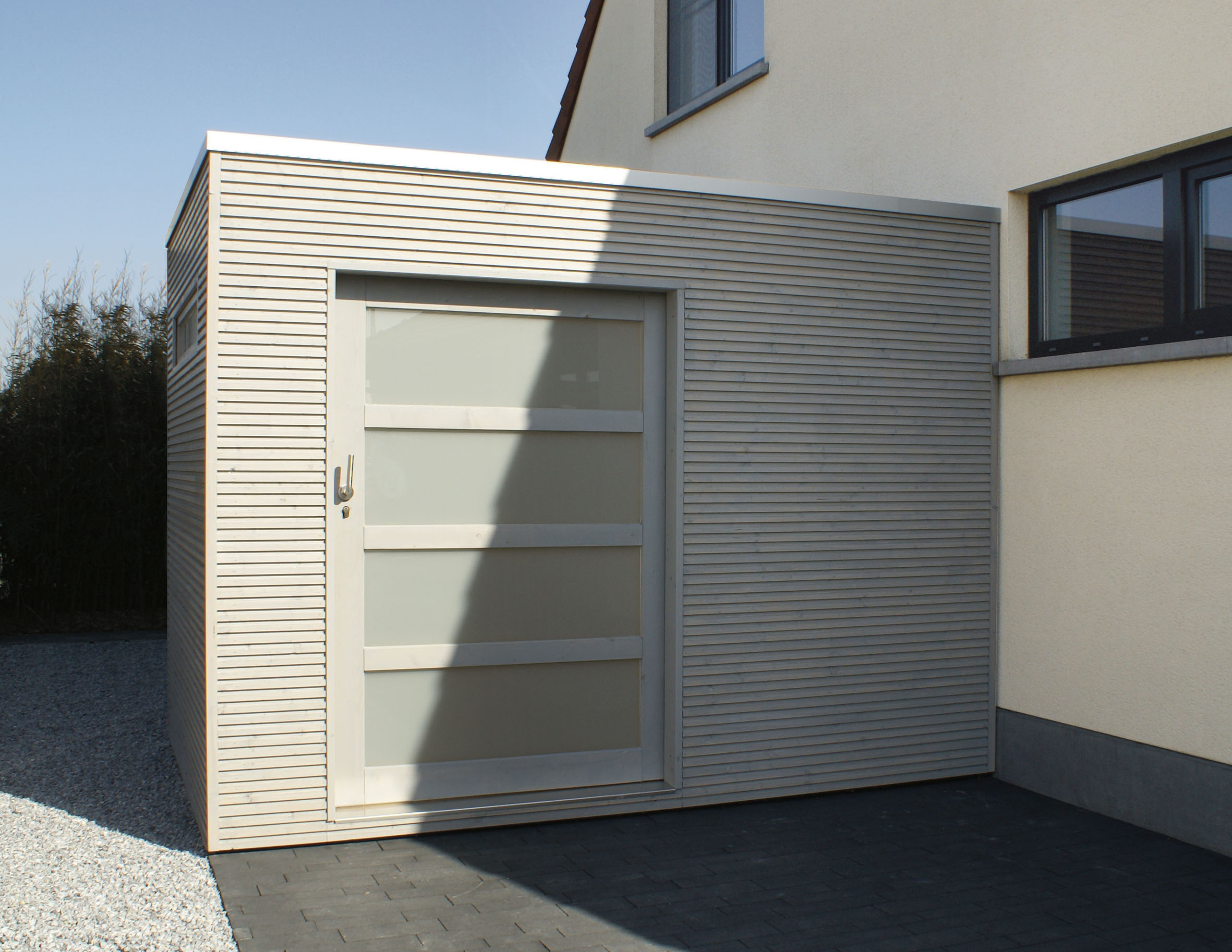 Cube th leman - Porte de garage coulissante 300x200 ...