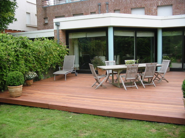 Terrasse en bois exotique PARAJU classe 5 REGION AMIENS ( 80 )