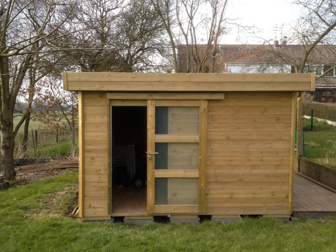 Cube th leman - Toit pour abris de jardin ...