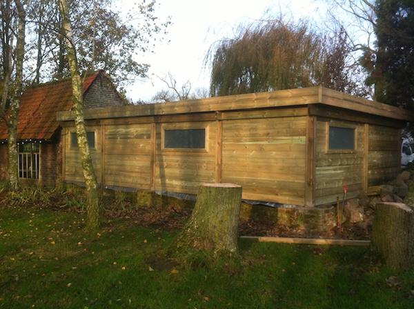 carport bois sur mesure th leman. Black Bedroom Furniture Sets. Home Design Ideas