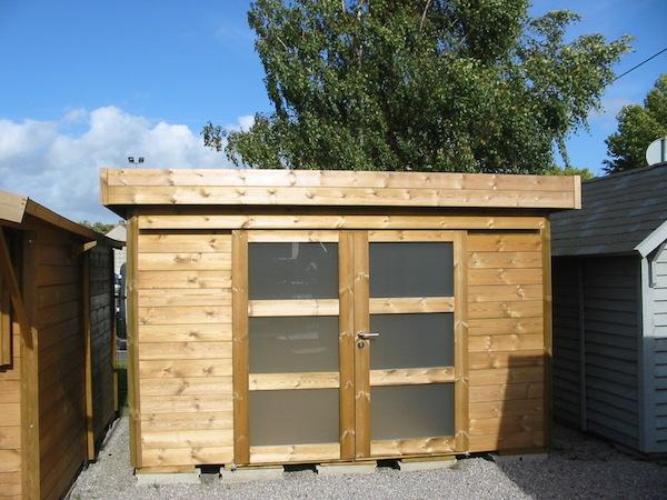 abris toit plat leman pos sur parpaings bois grenier 59 th leman. Black Bedroom Furniture Sets. Home Design Ideas