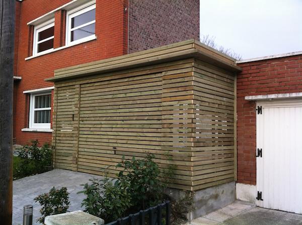 carport bois sur mesure garage bois th leman. Black Bedroom Furniture Sets. Home Design Ideas