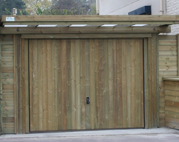Garages th leman for Porte garage basculante sur mesure