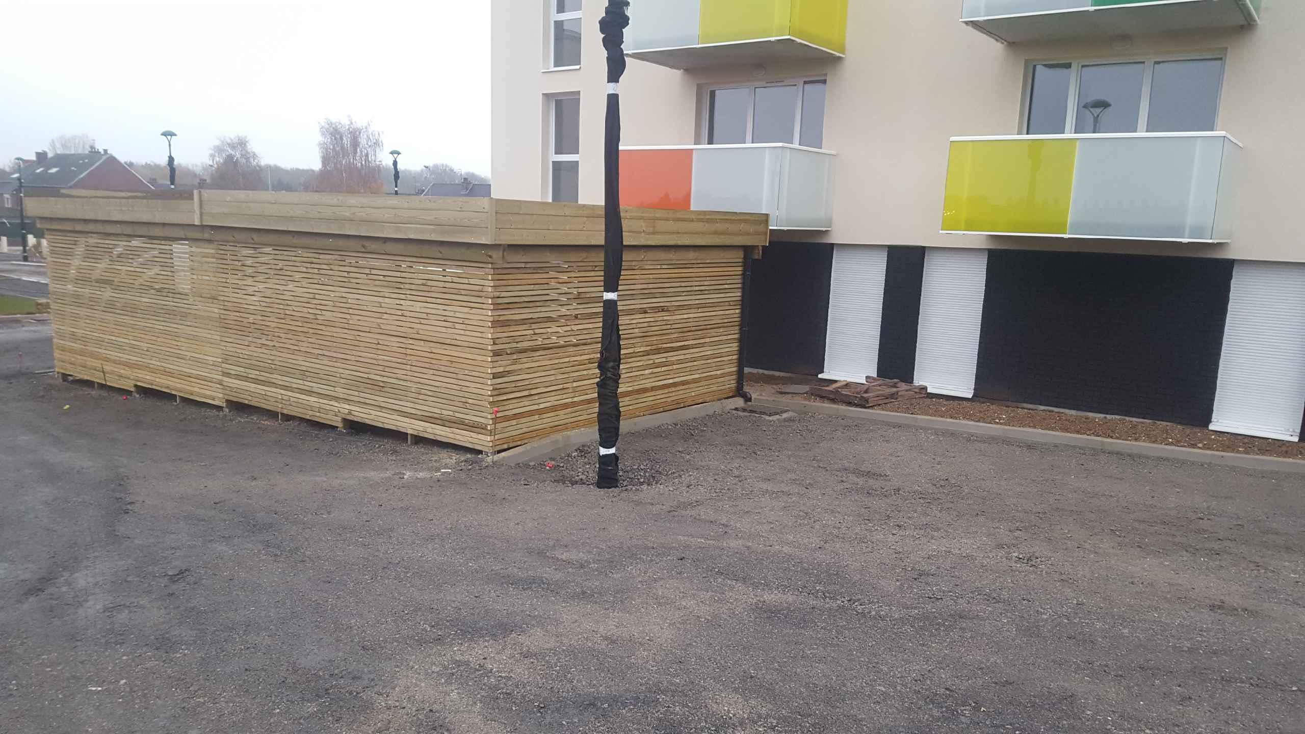 Construire Un Abri A Velo garage en bois sur-mesure| th-leman