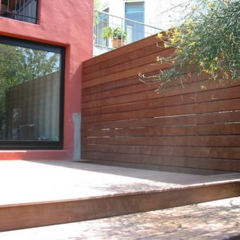 Terrasse en bois exotiques