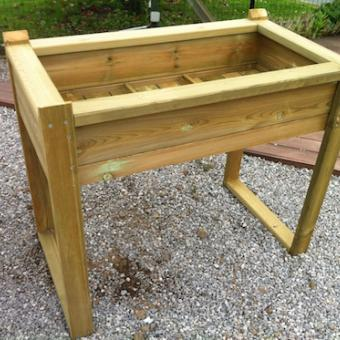 carré potager bois
