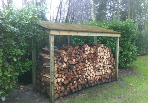 abri buche en bois à Bondues ( Nord ) à Array