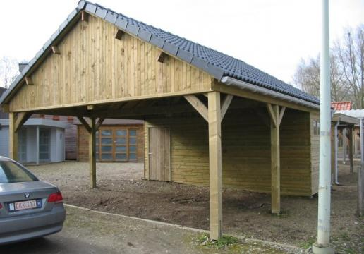 Les carports th leman - Carport double pente ...