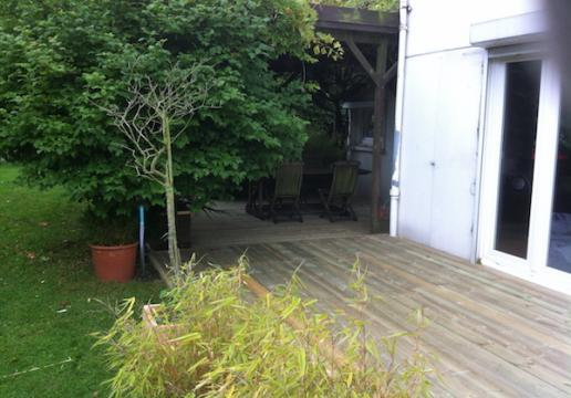 Terrasse en Sapin Rouge ( Pin sylvestre du Nord ) - LE TOUQUET ( 62 )