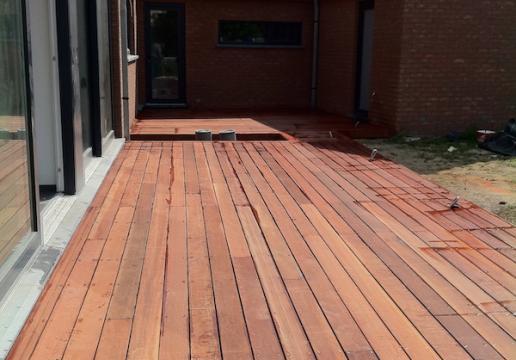 Terrasse bois exotique PARAJU - SOMME ( 80 )