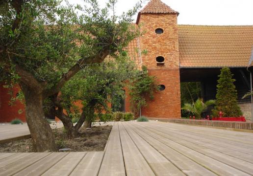 Terrasse Bois en pin sylvestre LE TOUQUET ( 62 )