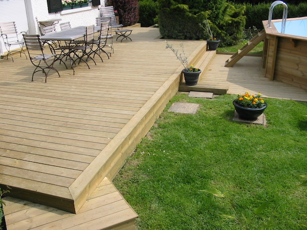 Terrasses en pin th leman - Sapin en pot pour terrasse ...